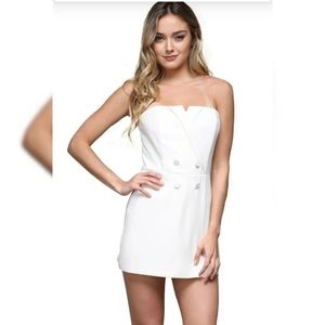 DO+BE Tuxedo Style Mini Dress